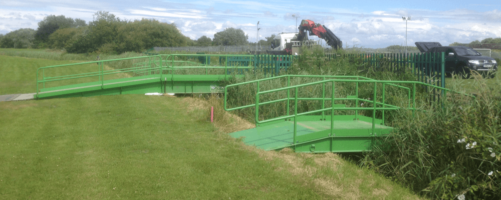 Portable Bridge Construction : Groundforce specialist construction solutions