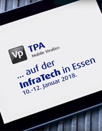 TPA unterwegs auf der InfraTech 2018