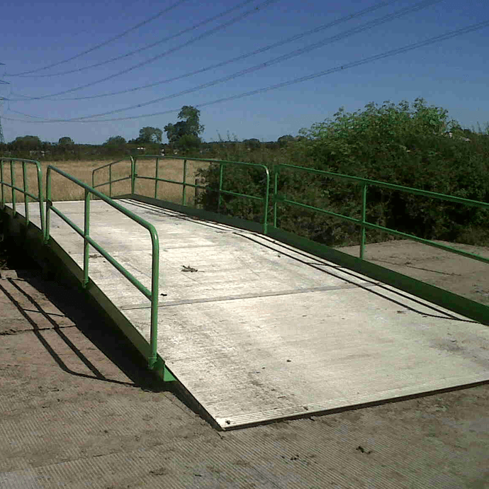 Small Portable Bridges : Temporary modular bridges groundforce bridge