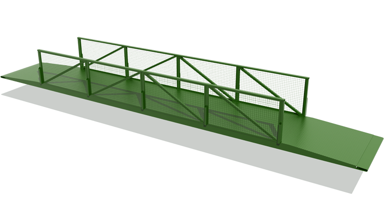 Pedestrian Bridge 3D