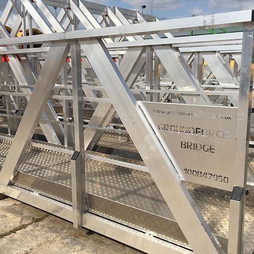 Temporary Modular Bridges   Groundforce Bridge