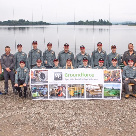 Groundforce Sponsors the Welsh National Youth Fly Fishing Team