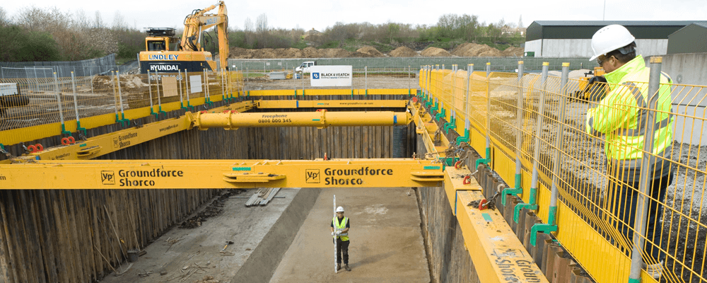 Shoring Equipment Trench Support Groundforce Shorco