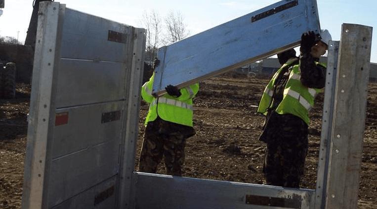 Maps Box | Aluminium Trench Box | Groundforce Shorco Map Box on