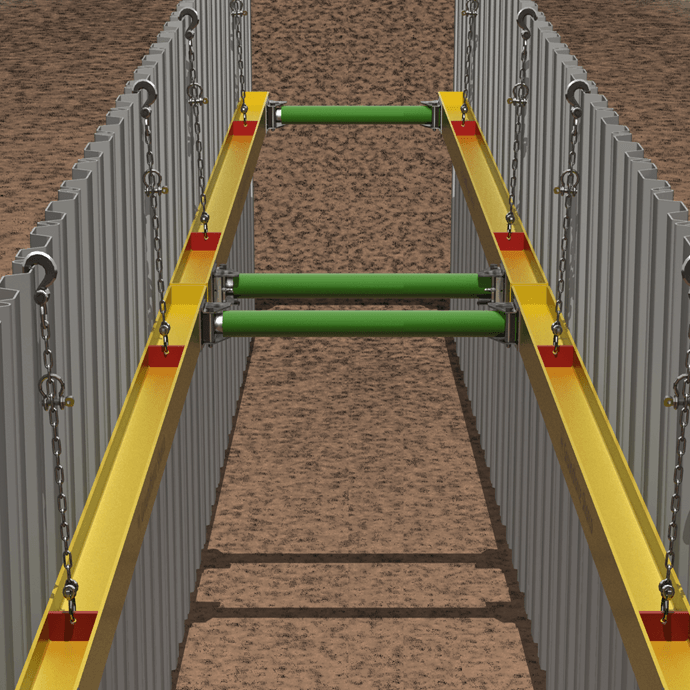 Steel Walers Lightweight Equipment Groundforce Shorco