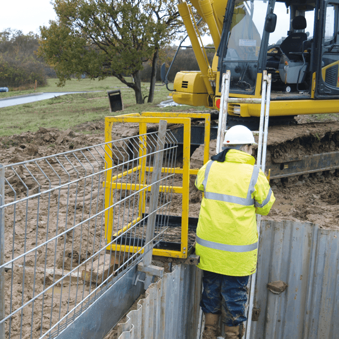 Shoring In Construction : Excavation safety groundforce shorco