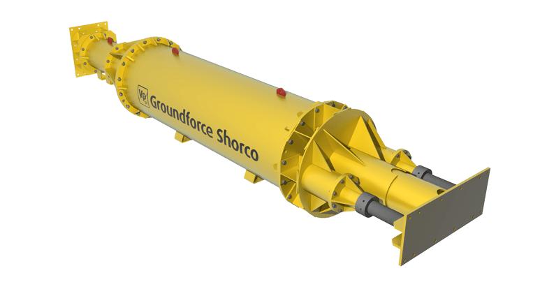 Hydraulic Shoring Jacks : Mp hydraulic strut specialist struts groundforce shorco