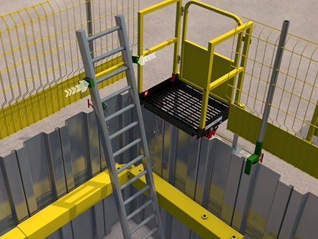 LadderSafe: Typical Installation Methodology