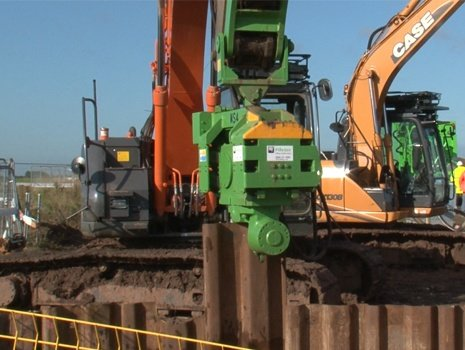 Excavator Mounted Vibrators