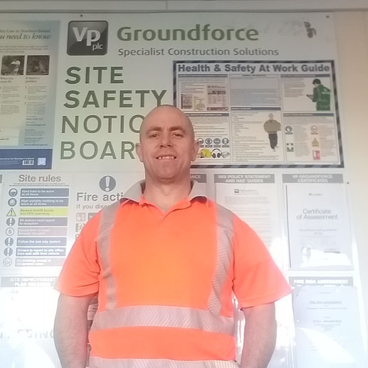 Interview with Groundforce Depot Foreman John Collins