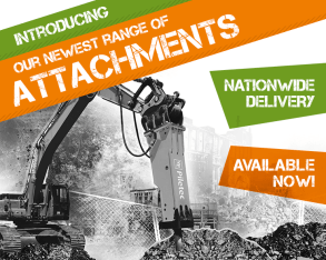 Find out about the *NEW* Attachments range