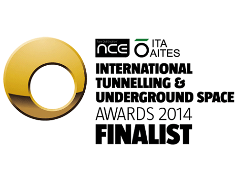 Groundforce shortlisted in International Tunnelling & Underground Space Awards