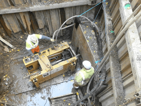 Lateral Thinking for Innovative Sewer Replacement using Pipe Eating Technique