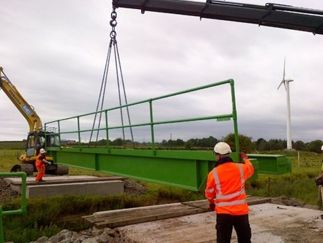 Groundforce Bridge completes first installation in Ireland with Mega Bridge
