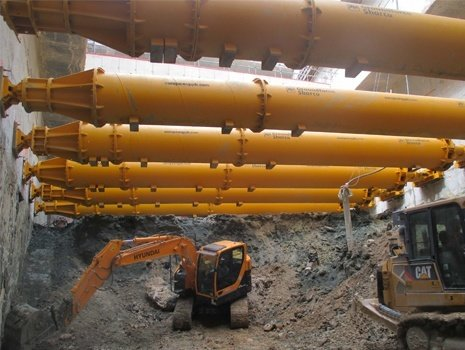 Groundforce Provides Shoring Equipment for Paris Metro Extension