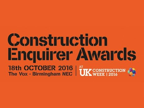 Groundforce shortlisted in new Construction Enquirer awards