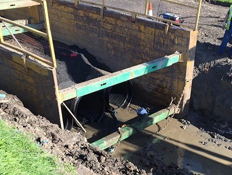 Groundforce is boxing clever on Scottish Sewer Upgrade