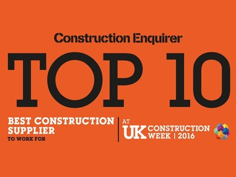 Groundforce makes it into top ten at Construction Enquirer Awards