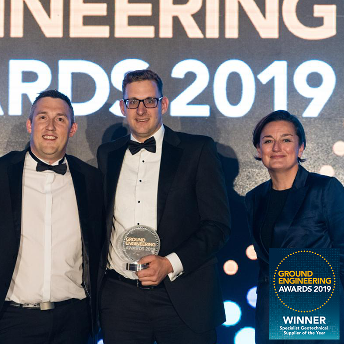 Groundforce win at the 2019 Ground Engineering Awards