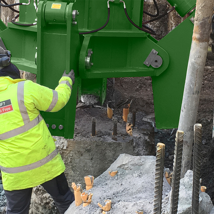 Groundforce expands pile cropping range