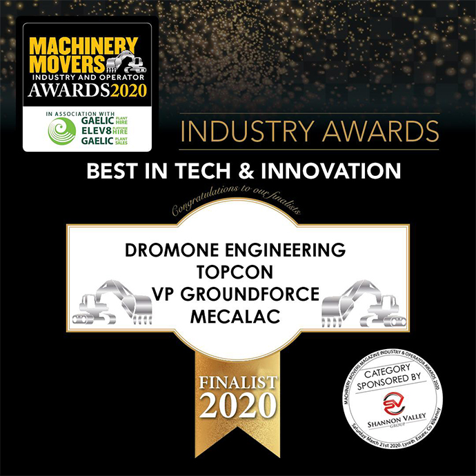Groundforce Shortlisted in Machinery Movers Awards