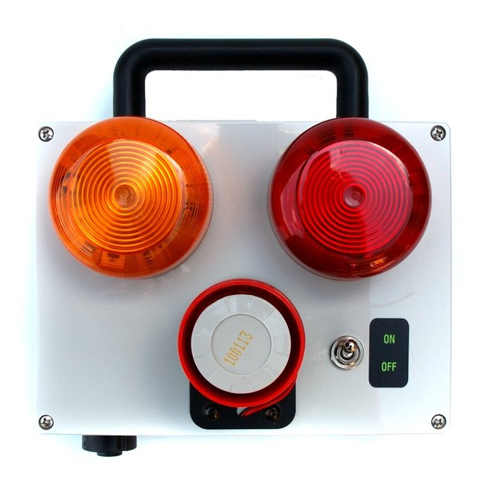 Piletec 2-Stage Audible & Visual Alarm