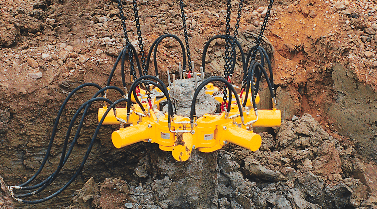 Round Concrete Pile Cropper | Products | Groundforce IE