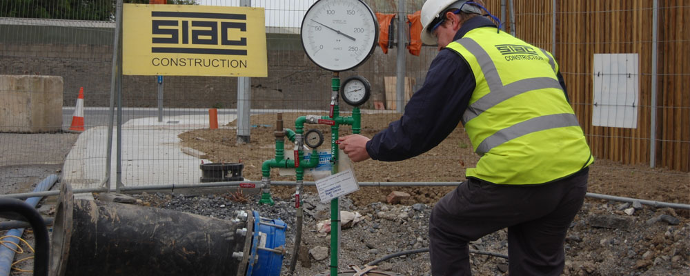 Pipe Testing & Flow Control