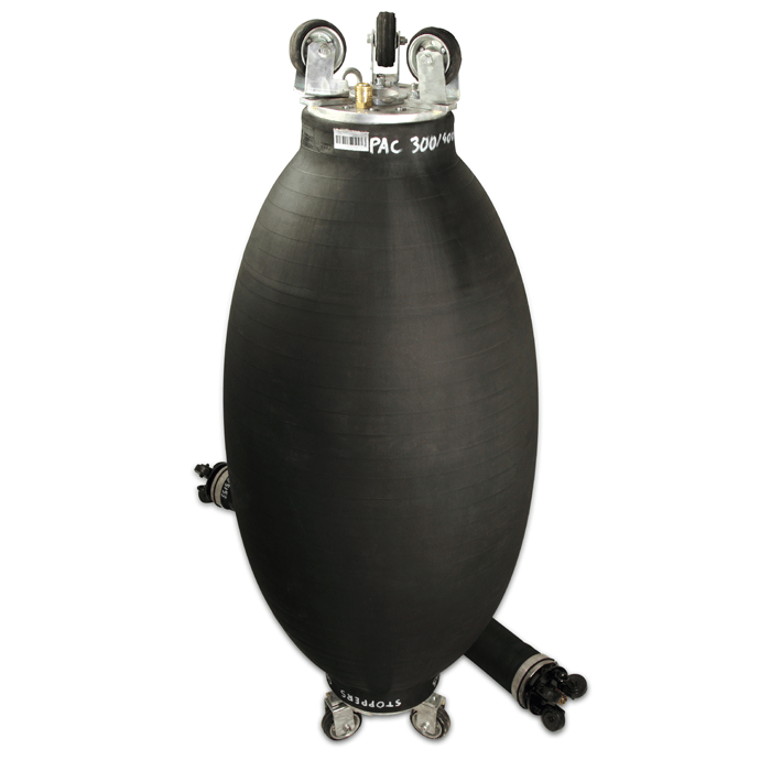 Flexible Flume Packers