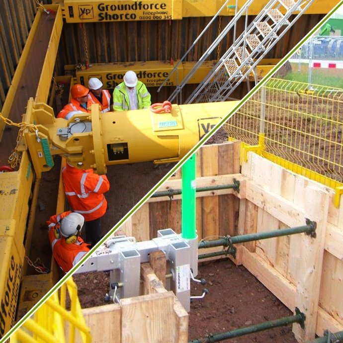 Install, Inspect & Remove Timber and Proprietary Shoring Systems