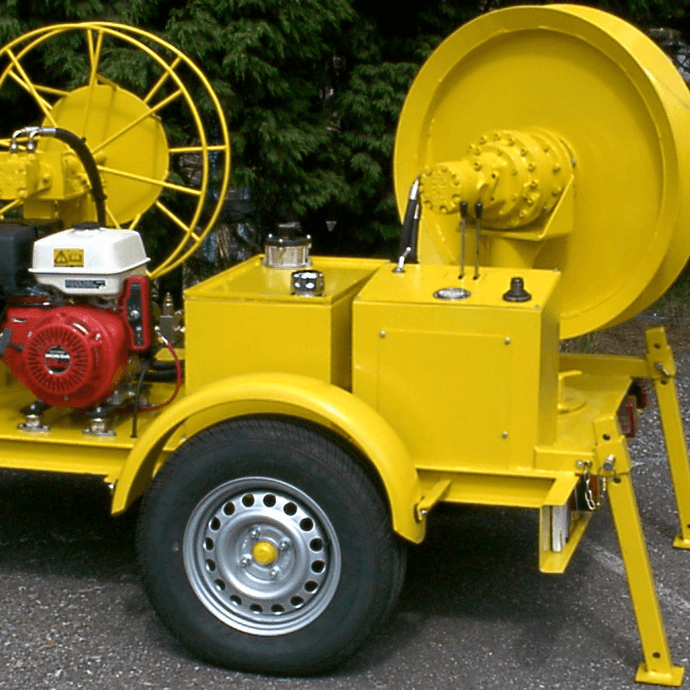 Fibre Assist Winch
