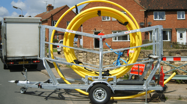 Pipe to Site Trailer