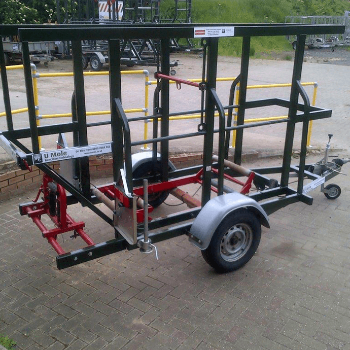 90mm Coil Pipe Trailer
