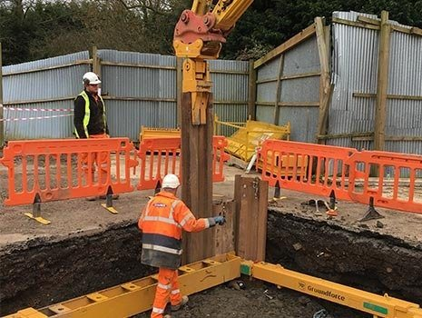 Groundforce Shorco Provides Essential Support for Rural Sewer Upgrade