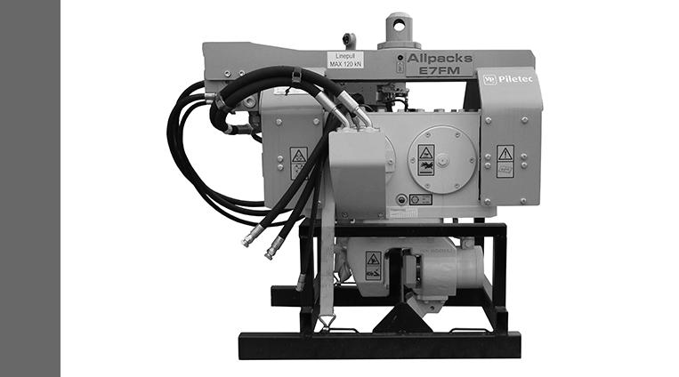 Excavator Mounted Vibrators for Hire | Piletec