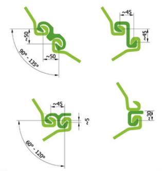 Larssen Sheet Piles Dimensions 600 750mm Cold Rolled U